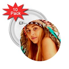 Indian 27 2 25  Buttons (10 Pack)  by indianwarrior