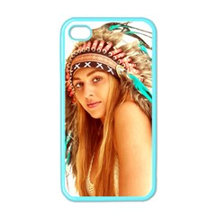 Indian 27 Apple Iphone 4 Case (color) by indianwarrior