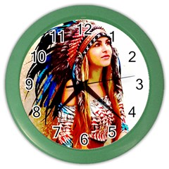 Indian 22 Color Wall Clocks by indianwarrior