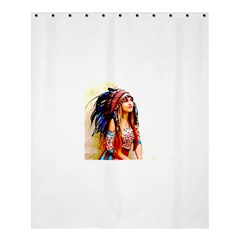 Indian 22 Shower Curtain 60  X 72  (medium)  by indianwarrior