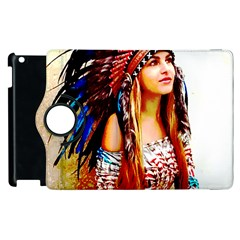 Indian 22 Apple Ipad 3/4 Flip 360 Case by indianwarrior