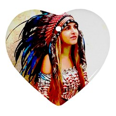 Indian 22 Ornament (heart)  by indianwarrior