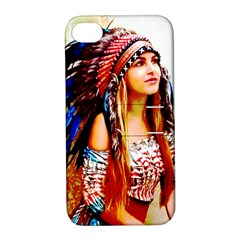 Indian 22 Apple Iphone 4/4s Hardshell Case With Stand by indianwarrior