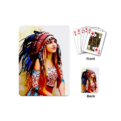 Indian 22 Playing Cards (mini)  by indianwarrior