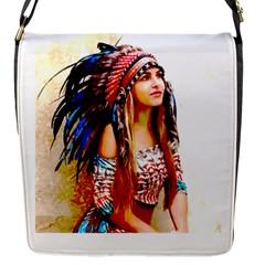 Indian 22 Flap Messenger Bag (s) by indianwarrior