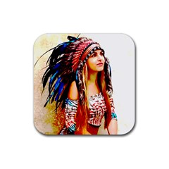 Indian 22 Rubber Square Coaster (4 Pack)  by indianwarrior