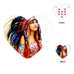Indian 22 Playing Cards (heart)  by indianwarrior