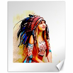 Indian 22 Canvas 11  X 14   by indianwarrior