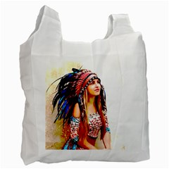 Indian 22 Recycle Bag (one Side) by indianwarrior