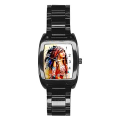Indian 22 Stainless Steel Barrel Watch by indianwarrior