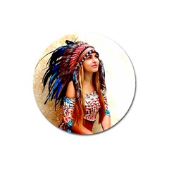 Indian 21 Magnet 3  (Round) by indianwarrior