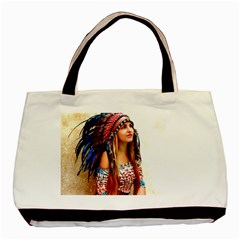 Indian 21 Basic Tote Bag by indianwarrior