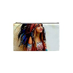 Indian 21 Cosmetic Bag (small)  by indianwarrior
