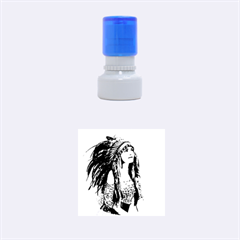Indian 21 Rubber Round Stamps (small) by indianwarrior