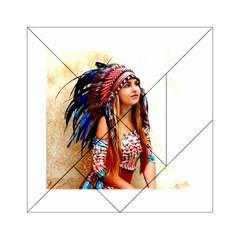 Indian 21 Acrylic Tangram Puzzle (6  X 6 ) by indianwarrior