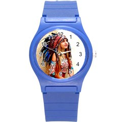 Indian 21 Round Plastic Sport Watch (s) by indianwarrior