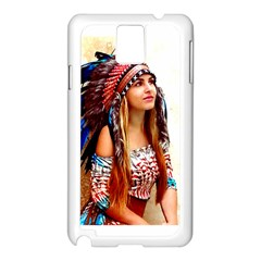 Indian 21 Samsung Galaxy Note 3 N9005 Case (white) by indianwarrior