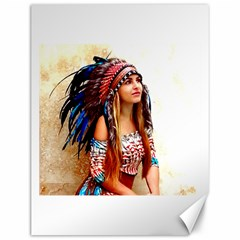 Indian 21 Canvas 12  x 16   by indianwarrior