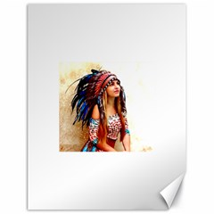 Indian 21 Canvas 18  X 24   by indianwarrior