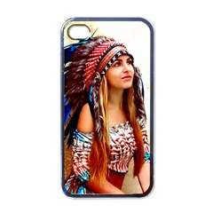 Indian 21 Apple Iphone 4 Case (black) by indianwarrior