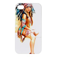 Indian 18 Apple Iphone 4/4s Premium Hardshell Case by indianwarrior