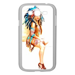 Indian 18 Samsung Galaxy Grand Duos I9082 Case (white) by indianwarrior