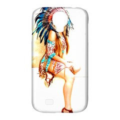 Indian 18 Samsung Galaxy S4 Classic Hardshell Case (pc+silicone) by indianwarrior