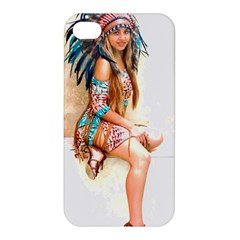Indian 17 Apple Iphone 4/4s Premium Hardshell Case by indianwarrior
