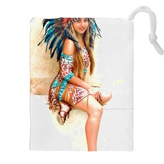 Indian 17 Drawstring Pouches (xxl)