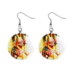 Indian 16 Mini Button Earrings by indianwarrior