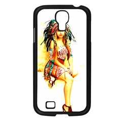 Indian 16 Samsung Galaxy S4 I9500/ I9505 Case (black) by indianwarrior