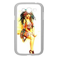 Indian 16 Samsung Galaxy Grand Duos I9082 Case (white) by indianwarrior