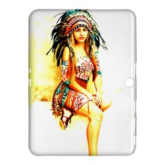 Indian 16 Samsung Galaxy Tab 4 (10 1 ) Hardshell Case  by indianwarrior
