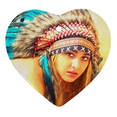 Indian 14 Ornament (heart)  by indianwarrior