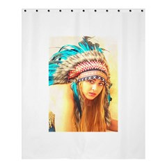 Indian 14 Shower Curtain 60  X 72  (medium)  by indianwarrior