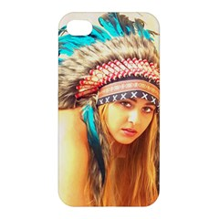 Indian 14 Apple Iphone 4/4s Premium Hardshell Case by indianwarrior