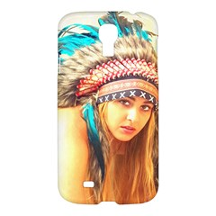 Indian 14 Samsung Galaxy S4 I9500/i9505 Hardshell Case by indianwarrior