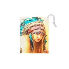 Indian 14 Drawstring Pouches (xs)  by indianwarrior