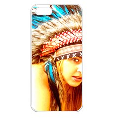 Indian 12 Apple Iphone 5 Seamless Case (white) by indianwarrior