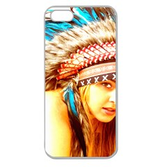 Indian 12 Apple Seamless Iphone 5 Case (clear) by indianwarrior