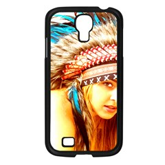 Indian 12 Samsung Galaxy S4 I9500/ I9505 Case (black) by indianwarrior
