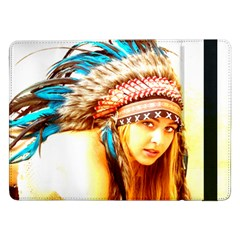 Indian 12 Samsung Galaxy Tab Pro 12 2  Flip Case by indianwarrior