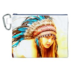 Indian 12 Canvas Cosmetic Bag (xxl)  by indianwarrior