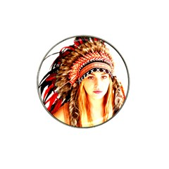Indian 3 Hat Clip Ball Marker (10 Pack) by indianwarrior
