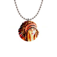 Indian 3 Button Necklaces by indianwarrior