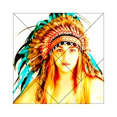 Indian 29 Acrylic Tangram Puzzle (6  X 6 ) by indianwarrior
