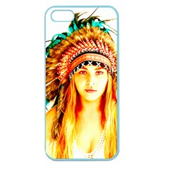 Indian 29 Apple Seamless Iphone 5 Case (color) by indianwarrior