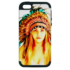 Indian 29 Apple Iphone 5 Hardshell Case (pc+silicone) by indianwarrior