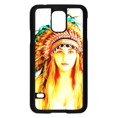 Indian 29 Samsung Galaxy S5 Case (black) by indianwarrior