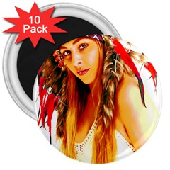 Indian 26 3  Magnets (10 Pack)  by indianwarrior